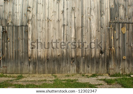 Rural Barn Backdrop - stock photo