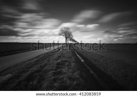 Rural Dutch fine art - stock photo