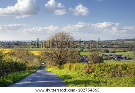 Rural Gloucesteshire, England - stock photo
