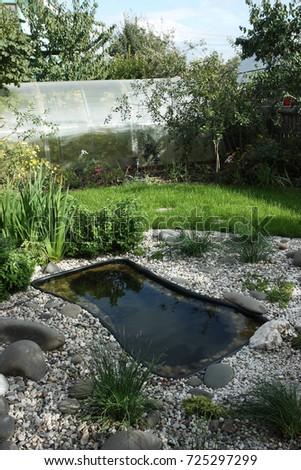 Preformed stock images royalty free images vectors for Garden pond insert