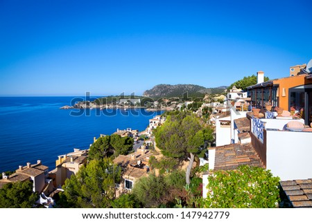 Rural Village in Paguera, Cala Fornells, Mallorca, Spain