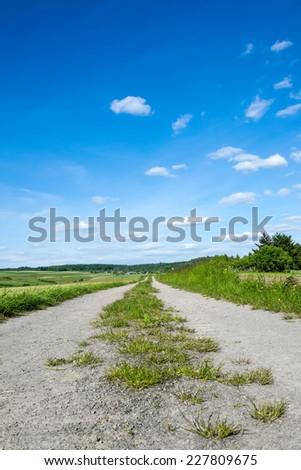 Rural Way - stock photo