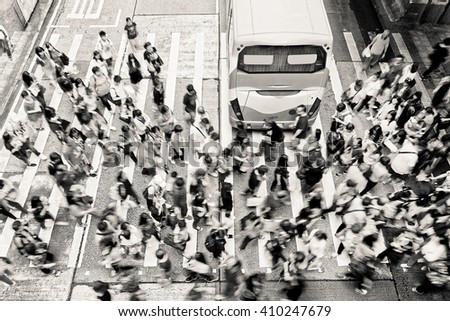 Rush hour - stock photo