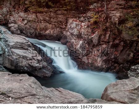 Rushing Water - stock photo