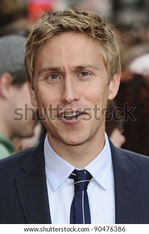 Russell Howard arriving for The Inbetweeners, The Movie, film premiere at the Vue Leicester Square, London. 16/08/2011 Picture by: Steve Vas / Featureflash