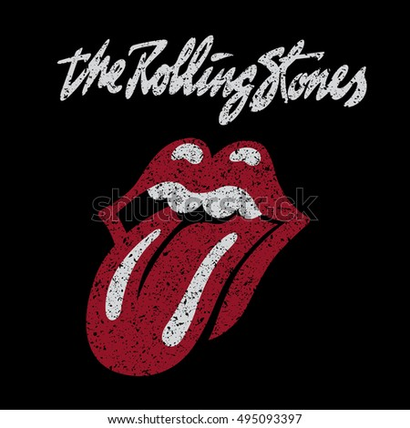 Russia October 07 2016 Rolling Stones Stock Illustration