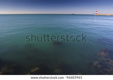 Russia Soshi sea - stock photo