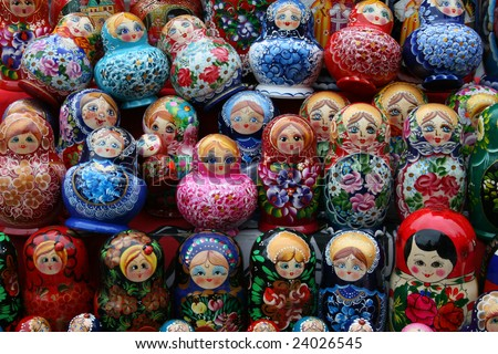 "russian dolls, ""matreshka"""