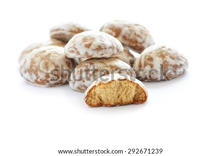 Russian gingerbread cookie - stock photo