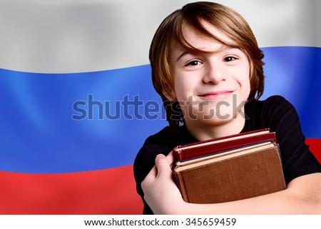 russian language school - stock photo