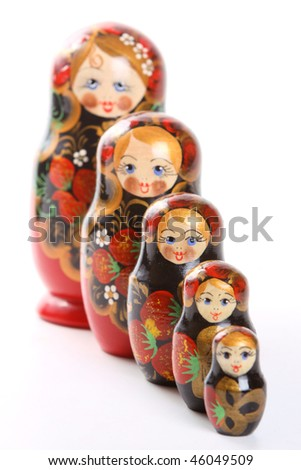 "Russian nested dolls, also known as matryoshka, ""matryoshka principle"" or ""nested doll principle""."
