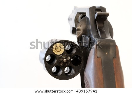 Russian roulette - stock photo