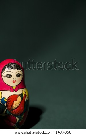 Russian toy - stock photo