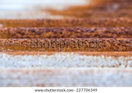 Rust - stock photo