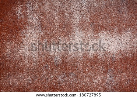 Rust And brown Peeling Paint Background - stock photo