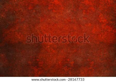 rust background - stock photo