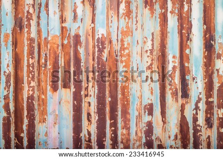 rust container texture and background - stock photo