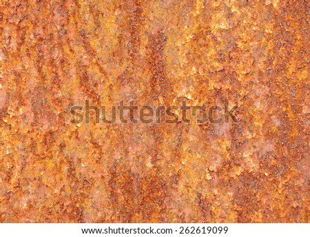 rust iron background - stock photo