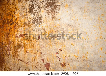 Rust metal texture background - stock photo
