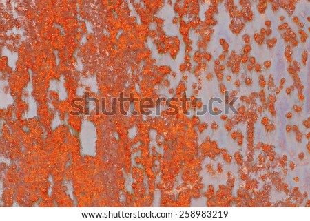 Rust metal texture grunge background with space for text.  - stock photo