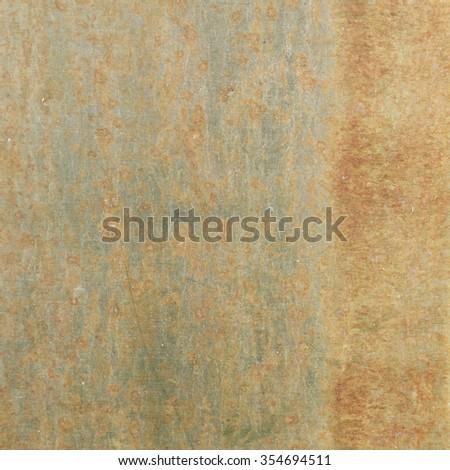 rust on steel plate texture - stock photo