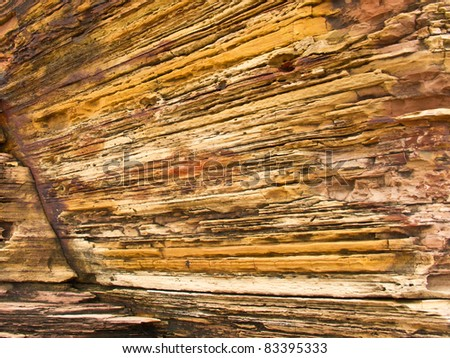 Rust Rock texture - stock photo