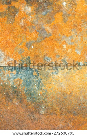 Rust rusty old metal texture or background - stock photo