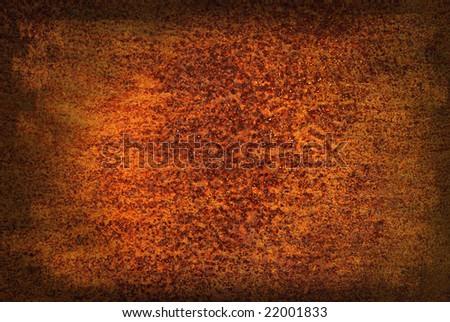 Rust - texture, corrosion - stock photo