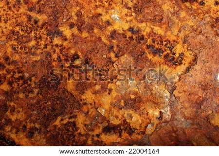 Rust - texture or background - stock photo