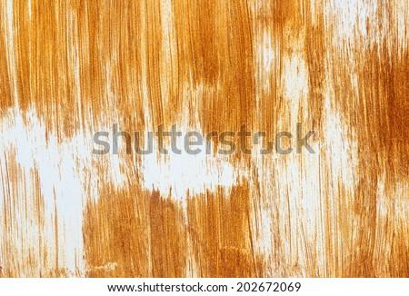 Rust wall texture - stock photo