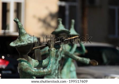 Rustavi georgia march 13 2013 statues stock photo for Ga fishing license for senior citizens