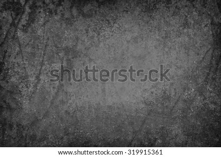 rusted black background with peeling paint texture - stock photo