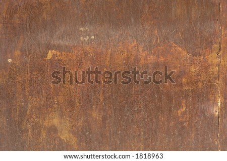 Rusted metal. - stock photo