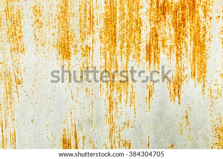 Rusted metal texture or background - stock photo