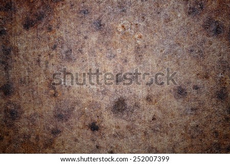 Rusted metal textures - stock photo