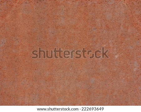 Rusted steel sheet useful as a background - stock photo