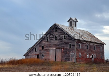 Rustic Barn - stock photo