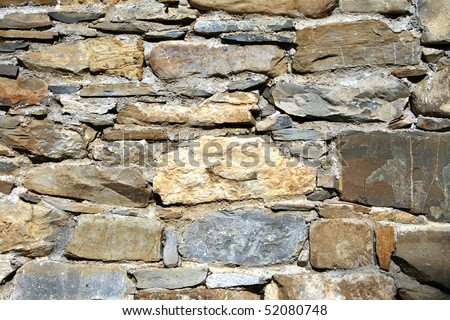 Rustic Brick Background Stock Photo 52080748