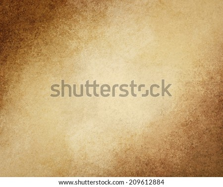 Rustic Brown Grunge Background With Darker Grungy Border And Vintage Texture Design Earthy Warm