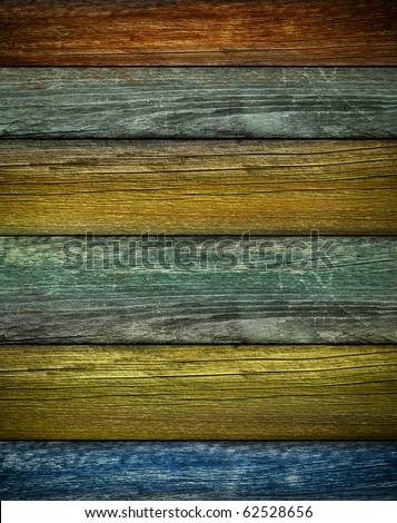 Rustic colored barn-wood background / Vertical - stock photo