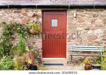 Rustic country Cottage Door