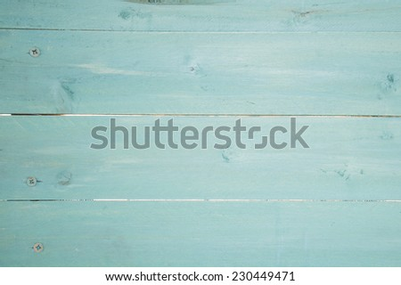 rustic turquoise wooden background texture - stock photo