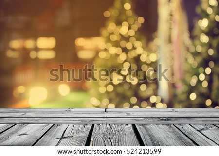 Rustic Christmas Lights Background Pictures