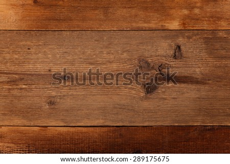 Rustic wood with nail and tree limbs - stock photo