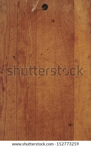 Rustic Wooden Board - stock photo
