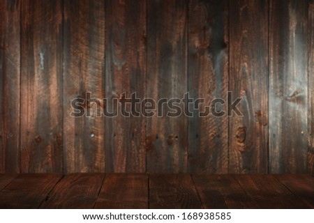 Rustic Wooden Empty Background. Insert Text or Objects
