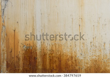 Rusty and grungy dripping texture background / Rusty texture background / grungy dripping texture background - stock photo