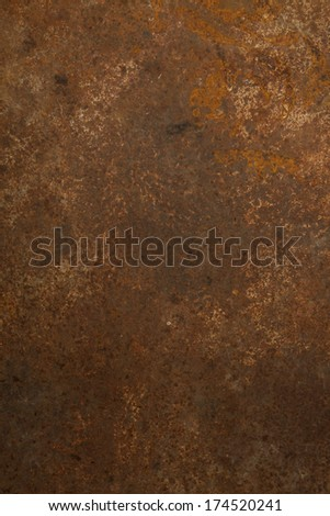 Rusty background, Grungy surface.