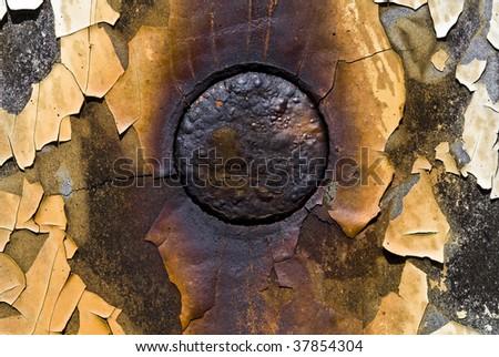 rusty bolt - stock photo