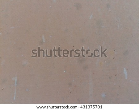 Rusty brown metal plate texture background - stock photo